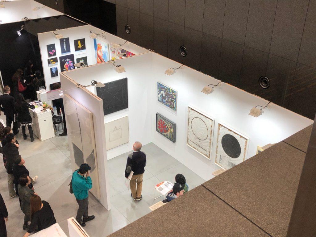 アートフェア東京2018には岡本太郎さんの作品もひっそりと展示されている