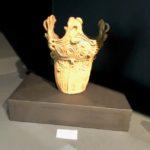アートフェア東京2018で出品された王冠型土器(縄文土器)
