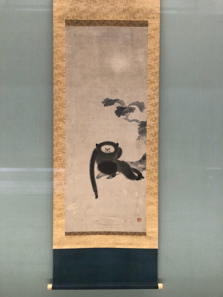 狩野山雪の猿猴図