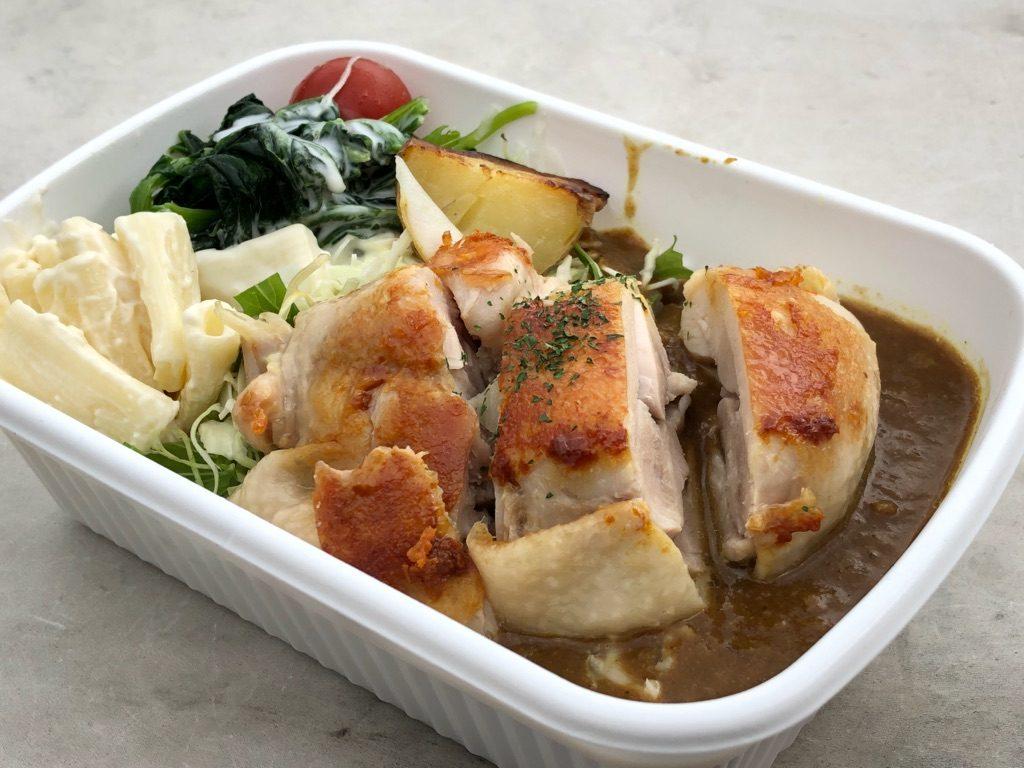 東京国立博物館の外でおいしく食べられる鶏肉のごはん