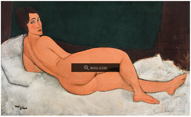 MODERN IMPRESSIONS Modigliani's Greatest Nude Is Also His Largest Painting Ever 24 APR 2018