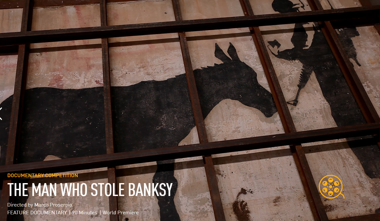 映画「バンクシーを盗んだ男」