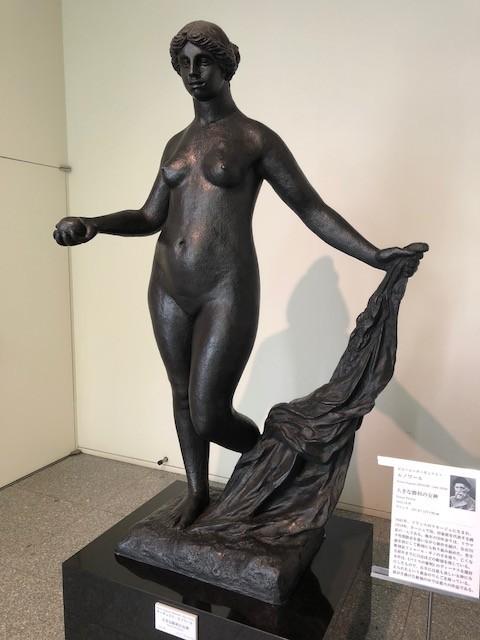 ルノワールのブロンズ彫刻「大きな勝利のヴィーナス」(1915-16年)