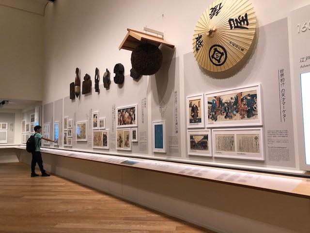 アドミュージアム 展示風景