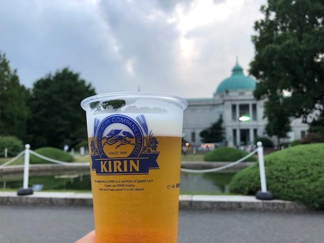 東京国立博物館でビールが飲める特別な日!