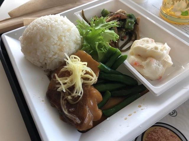 Miraikan Kitchenの赤魚煮付け定食
