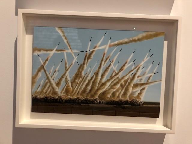 オリバー・ラリック《ヴァージョン(ミサイルのヴァリエーション), 2010》