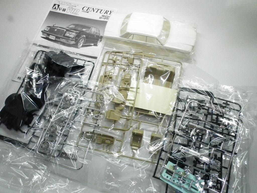 トヨタセンチュリーのプラモデル部品一覧