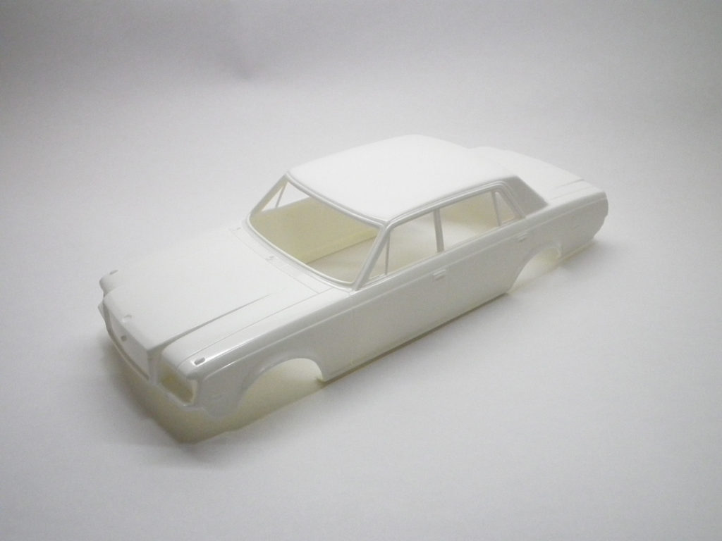 トヨタセンチュリーのプラモデルの素材考察