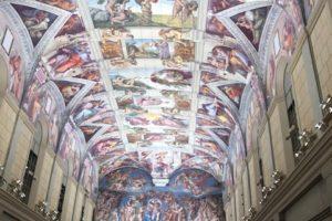 システィーナ礼拝堂天井画および壁画