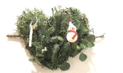 クリスマス・リースの作り方